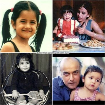 Bollywood Actor Actress Childhood pics