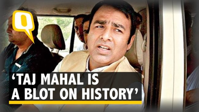 Taj Mahal a Blot on Indian Culture: BJP MLA Sangeet Som