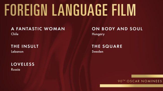 best foreign language Film