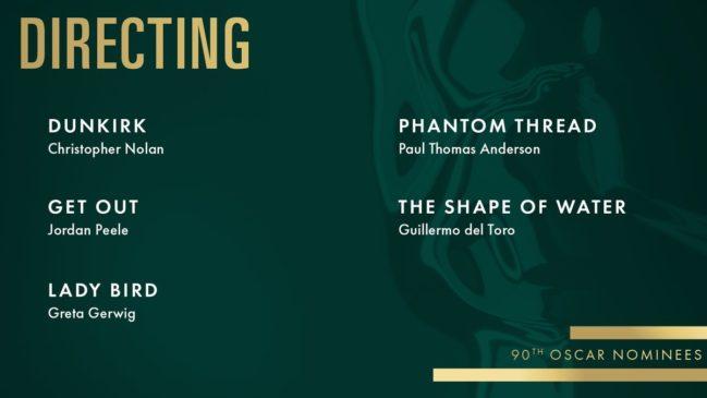 best Director Oscar Award