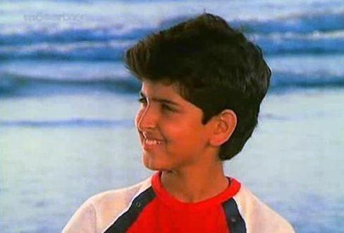 Hrithik childhood Pics