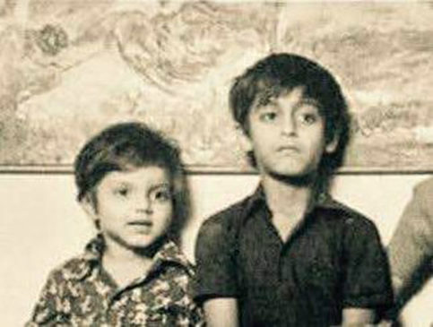 Salman Khan Childhood Pic