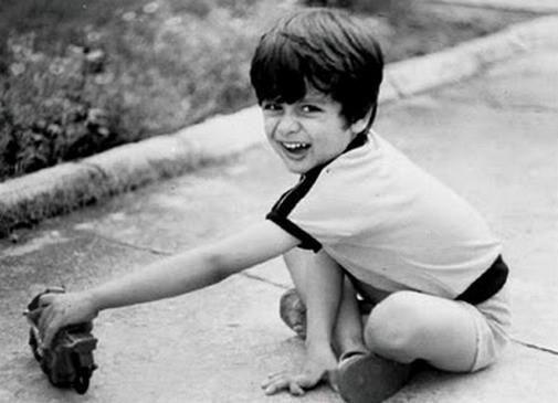 Shahid Kapoor Childhood Pic