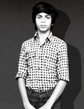 Sharukh childhood picture