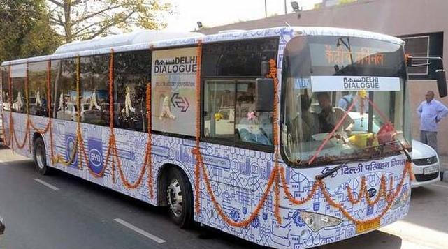 Electric low Floor buses