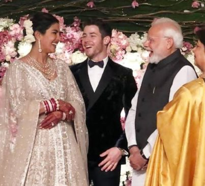 Modi Ji in Priyanka Nick jonas Wedding