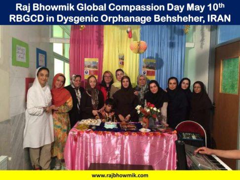 Raj Bhowmik Global Compassion Day
