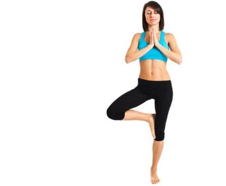 Health benefits of Vrikshasana