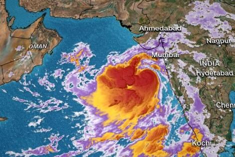 Vayu Cyclone's movement